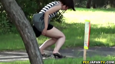 Pee, Japanese piss, Japanese public, Japanese outdoor, Japanese pissing, Japanese girls