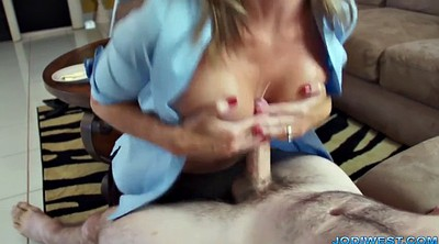 Mom, Jodi west, Moms handjob, Mom handjob, West, Mature mom