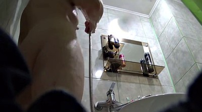 Moms, Mom shower, Hidden camera, Bbw mom