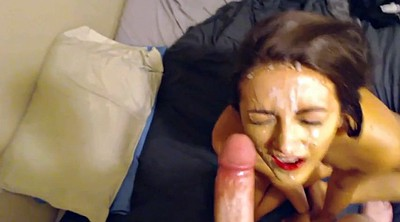 Amateur facial, Blowjob compilation