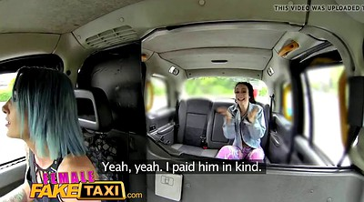 Strapon, Strap on, Lesbian strap on, Fake taxi