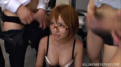 Bukkake, Asian pantyhose, Office pantyhose