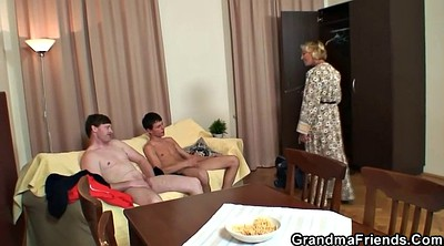 Teen old, Granny boy, Granny and boy
