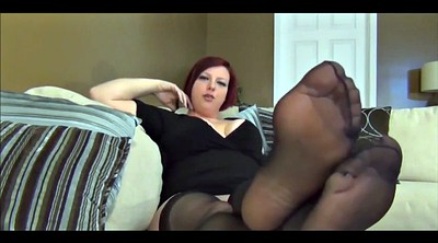 Stocking foot, Baby, Stocking tease, Tease, Foot stocking, Bbw foot