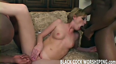 Interracial bdsm, Wife watch, Interracial wife, Wife watches, Roast, Interracial threesome