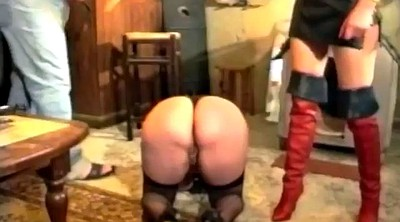 Spanked, Force, Forced, Big ass mature