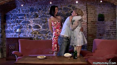 Mature mom, Mature and young lesbian, Lesbian mom, Old and young lesbians