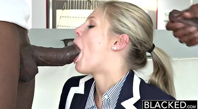 Teen interracial, Two times, Blond black