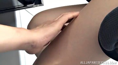 Japanese pantyhose, Japanese office, Asian pantyhose