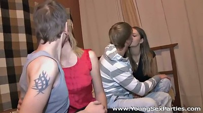 Fit, Young couple