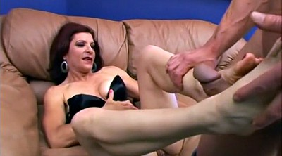 Mature feet, Young feet, Redhead feet