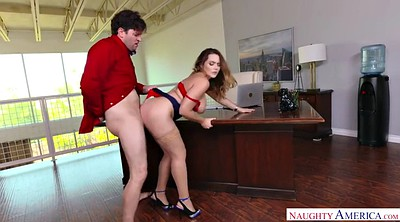 Office boss, Watching porn, Office lady