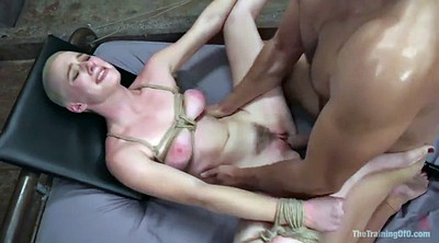 Tied, Brutal, Riley, Bondage bdsm, Blonde tied, Chubby bdsm