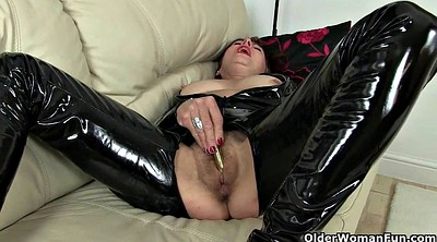 Nylon mature, British granny