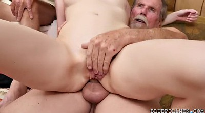 Short hair, Swallow, Alex, Pickup, Old men, Gay old