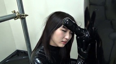 Bondage asian, Japanese black, Japanese latex