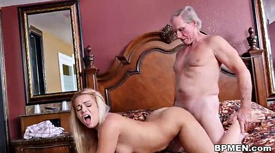 Old man, Granny anal, Man, Young man, Old man anal