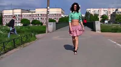 Russian girl, Walk
