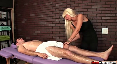 Hot massage, Blindfolded
