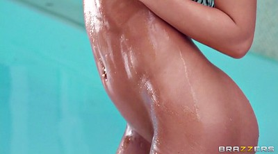 Tease, Amy, Nudes, Oiled solo