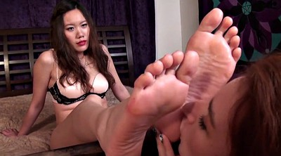 Chinese, Chinese foot, Chinese feet, Asian foot, Chinese lesbian, Lesbian foot worship