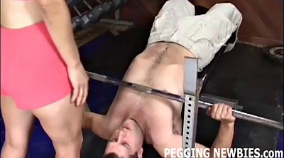 Strapon pegging
