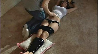 Tied tits, Tied, Tickling, Tickle, Tape