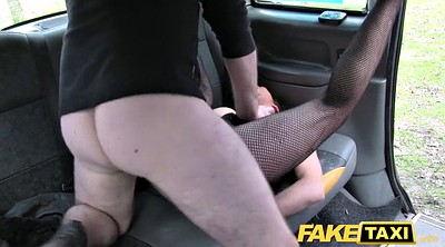 Fake taxi, Street, For cash, Lady