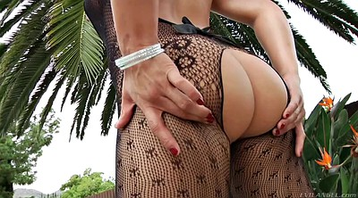 Body, Ass solo, Asian stockings