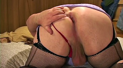 Stockings, Chubby, Chubby solo, Bbw solo, Anal stocking, Nylon sex