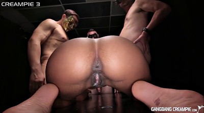 Gangbang creampie, Creampies, Creampie compilation