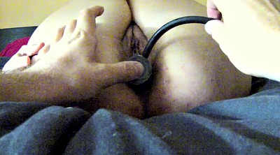 Creampies, Training, Anal dildo
