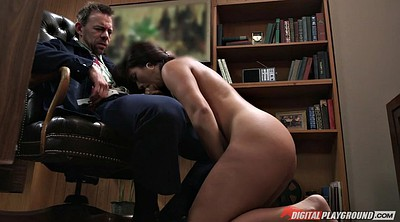 Eva, Boss, Asian office, Sucking cock