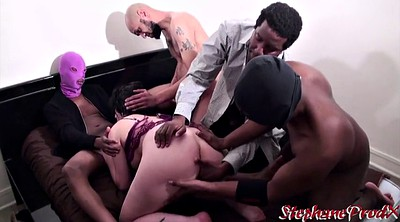 Interracial amateur, Amateur gang, French gangbang