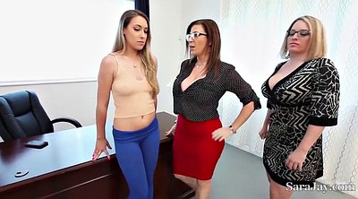 Office threesome, Lesbian office, Hardcore, Teacher student, Office lesbian, Office fuck