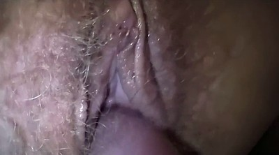 Big clit, Hairy creampie