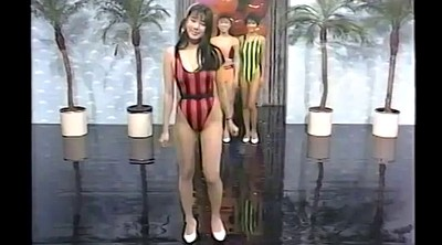Retro, Swimsuit, Japanese gym, Tv show, Japanese show, Vintage asian