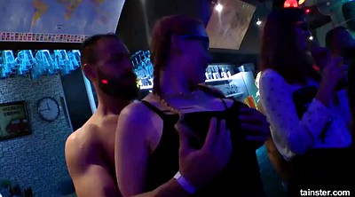 Club, Porn, Hot porn, Bisexual orgy
