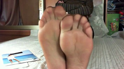 Pantyhose feet, Foot sole