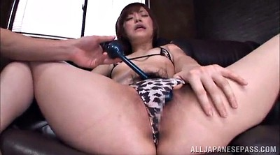 Hairy pussy, Asian gangbang