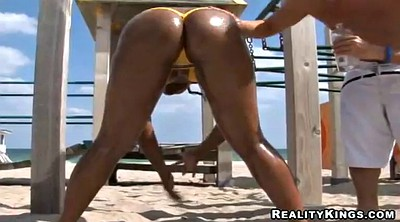 Bikini, Stephanie, Beach fucking, Beach ass