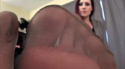 Pantyhose foot, Pantyhose feet fetish