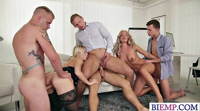Bisexual, Orgy anal