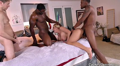 Watch, Olivia austin, Cuckold femdom, Milf threesome, Ebony big tits, Big black tits