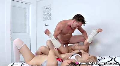 Foursome, Barely, Teen strip
