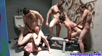 Orgy, Hard sex, Muscle boy
