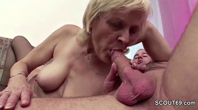 Granny boy, Fuck boy, Stocking granny, Granny and boy