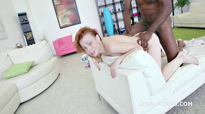 Blacked anal, Anal gape, Black chick white dick, Ass gape