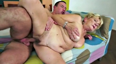 Old young, Granny creampie