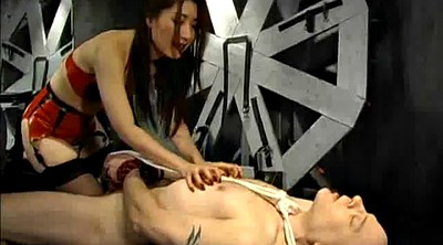Punish, Tie, Tied up, Dominatrix, Tie up, Nipple lick